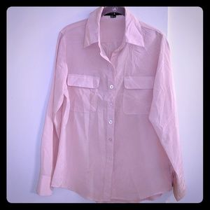 XXI sz M light pink blouse